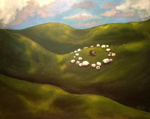BlackSheep2012-30x24